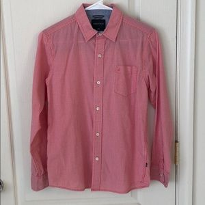 Nautica Long Sleeve Button Down Shirt